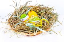Free Colorful Easter Eggs Royalty Free Stock Photography - 18914847