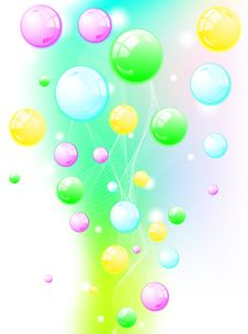 Free Abstract Vector Colorful Background Royalty Free Stock Photos - 18914948