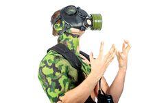 Free Gas Mask Stock Photo - 18915300