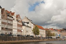 Free Storm Clouds Over Copenhagen Stock Photo - 18915350