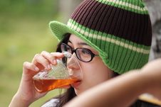Free Beer Drinking Stock Image - 18915551