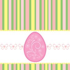 Free Easter Card. Royalty Free Stock Photo - 18916395