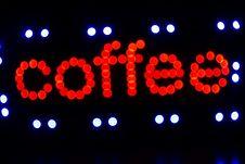 Free Coffee Sign Stock Photos - 18917243