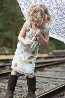 Free Lace Umbrella Stock Photos - 18918453