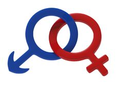 Female Male Sign Stock Photos