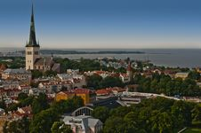 Free Panorama Of City Of Tallinn Stock Photography - 18919272