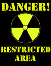 Free Nuclear Warning Sign Royalty Free Stock Photo - 18924695