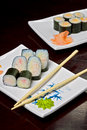Free Sushi - Roll Royalty Free Stock Photography - 18927267