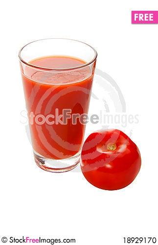 Free Tomato And Tomato Juice Stock Photo - 18929170