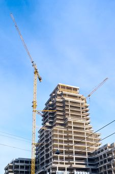 Free High-rise Construction Stock Image - 18920001
