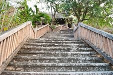 Free Up Stair To The House. Stock Photography - 18921012