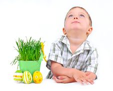 Easter Egg Hunt. Stock Images