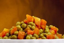 Free Canned Peas Royalty Free Stock Photos - 18921208