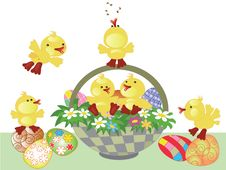 Free Easter Basket Stock Photos - 18924323