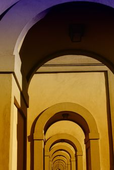 Free Architectural Detail Near Ponte Vecchio, Florence Stock Images - 18924424