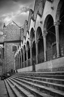 Basilica Of Santa Croce In Florence Stock Images