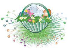 Free Easter Basket Stock Image - 18924591