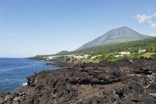 Azores Coastline Stock Images