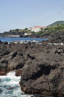 Azores Coastline Stock Photos