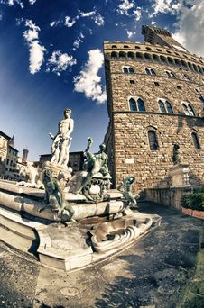 Free Piazza Della Signoria In Florence, Italy Royalty Free Stock Photos - 18925058