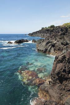 Azores Coastline Royalty Free Stock Image