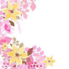 Flowers Decorate Stock Photo