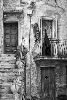 Free Detail Of Corsica Architecture Royalty Free Stock Photography - 18925237