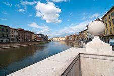 Free Lungarni, Pisa Stock Photo - 18925280