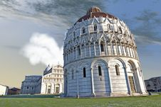 Free Piazza Dei Miracoli, Pisa, Italy Royalty Free Stock Images - 18925349