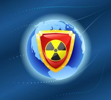 Free Radiation Shield. Stock Photos - 18925393