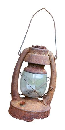 Free Old Rusty Oil Lamp Stock Images - 18925454