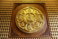 Free Golden Craft Buddha In Thailand Royalty Free Stock Photos - 18925948