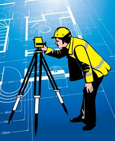 Free Surveyor Stock Photography - 18925952