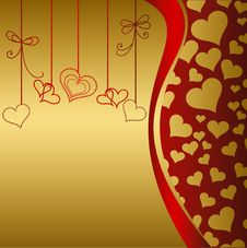 Free Valentine S Day Card Royalty Free Stock Image - 18926166