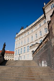 Free Stairs To The Prague Castle Royalty Free Stock Photo - 18926295