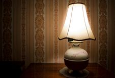 Free Vintage Night Lamp Royalty Free Stock Photo - 18926875