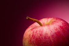 Free Red Apple. Macro. Stock Photography - 18926892