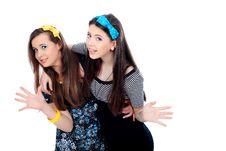 Free Funny Girls Stock Image - 18927171