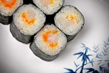 Free Sushi - Roll Stock Photography - 18927262