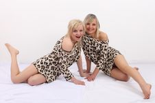 Free In Leopard Dress Stock Photos - 18927403