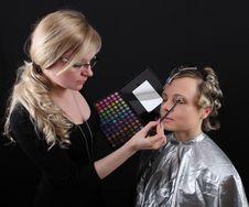 Free Makeup Royalty Free Stock Photo - 18927575