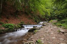 The Beautiful Mountain River Stock Photos