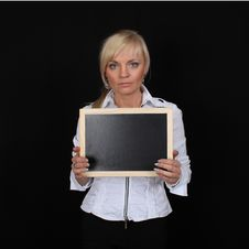 Free Woman Tablet Royalty Free Stock Photography - 18927747