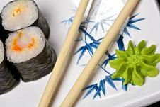 Sushi - Roll Stock Images