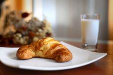 Appetizing Croissant Stock Image
