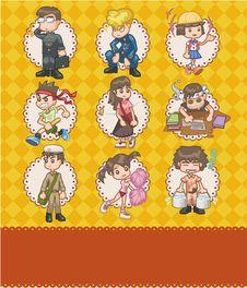 Free Cartoon School Card Royalty Free Stock Photos - 18928758
