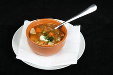 Free Mushroom Soup Stock Image - 18928821