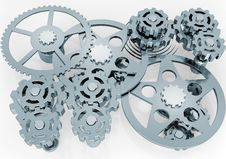 Free Mechanism Of Gears Stock Photos - 18929063