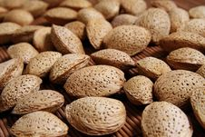 Free Almond Nuts Close-up Royalty Free Stock Photography - 18929937