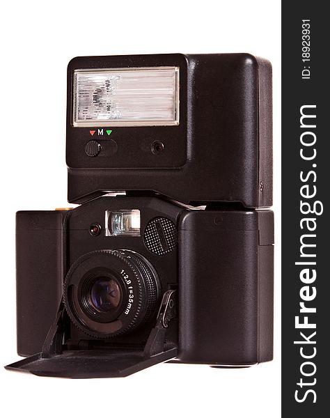Vintage folding camera 35mm